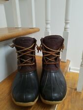 Sperry Saltwater duck  Spring Rain Boots Size 9m Womens