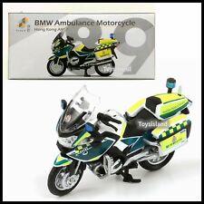 TINY HONG KONG CITY 89 BMW Ambulance Motorcycle Bike AMS DIECAST CAR