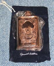 Jascob Bromwell Special Editon Skull Couture Copper Flask, Brand New!