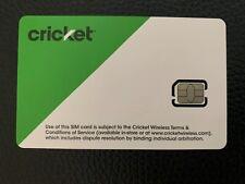 Cricket Wireless Nano Sim Card 4G Lte(Includes Free Gift)