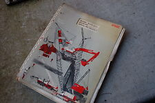FMC LINK BELT HSP 25 TRUCK CRANE Parts Manual Book List catalog spare boom index