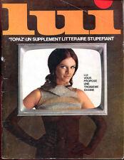 REVUE LUI N°48. SPECIAL NOËL. Décembre 1967.
