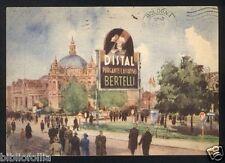 Cartolina - DISTAL BERTELLI Purgante Lassativo - VG 1953 x Bologna Pubblicità