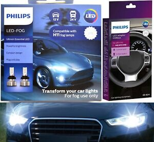 Philips Ultinon LED 40W Canceller H11 Fog Light Two Bulbs Upgrade Replacement OE