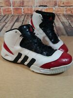 ADIDAS Pro Torsion System Basketball Gym Shoes Patent Leather Mens Size 9.5