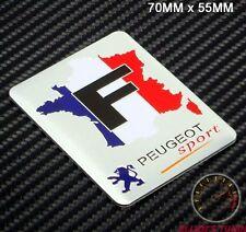PEUGEOT SPORT BADGE EMBLEM - 208 4FF 107 206 207 GTI WRC TURBO 205 306 307 CC