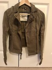 NWT Abercrombie & Fitch Women's Bailey Jacket Brown XS