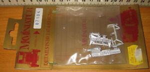 Mo-Miniatur 87164 Sortiment Maschinen Weissmetallmodelle HO Neu in OVP !