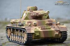 RC Tanque 4 2.4GHz Metal Edición Bajo Metálico BATALLA 6mm BB 360° Torre