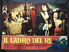 FOTOBUSTA CINEMA - IL LADRO DEL RE - ANN BLYTH - 1955 - AVVENTURA - 07