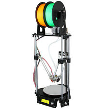 GEEETECH Delta Rostock Kossel 3D Printer Drucker Auto Level Dual Print Head LCD