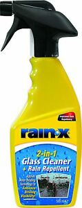 Rain X 2 in 1 Glass Cleaner Rain Repellent 500ml Trigger Spray Car Windscreen*
