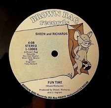SHEEN & RICHARDS Fun Time 12' Rare Funk Soul Brown Bag Records FREE S&H