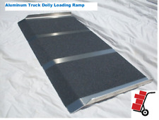 New Aluminum Cargo Curb Hand Truck Dollie Dolly Loading Ramp 2ft X 32""