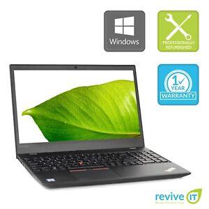 "Custom Build Lenovo ThinkPad T570 15.6"" Laptop Core i7 Min 2.60GHz Grade B v.WCA"