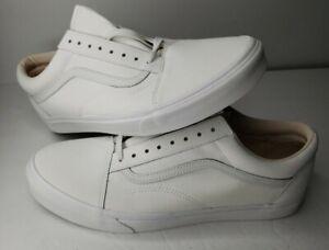 Vans Vansbuck Old Skool - Blanc de Blanc - Sneakers Low Man White Mens 13 NEW