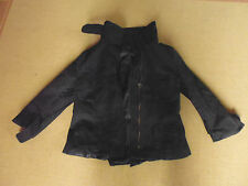LADIES CUTE BLACK POLYCOTTON LONG SLEEVE ZIP JACKET BY SPICY SUGAR SIZE 8 CHEAP