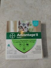 Bayer Advantage Ii for Kitten 2-5 Lbs - 2 Pack - Flea Treatment Control