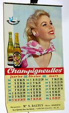 Bière de Champigneulles Calendrier 1960