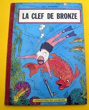 BOB ET BOBETTE VANDERSTEEN LA CLEF DE BRONZE EO BELGE 57 CARTONNEE BON ETAT+