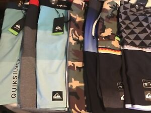 "Quiksilver High Line 20"" Men's Shorts Different Colors and Styles"