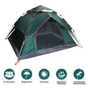 Schnellaufbau Zelt Campingzelt Doppelwandiges wasserdicht Ultraleicht Winddicht