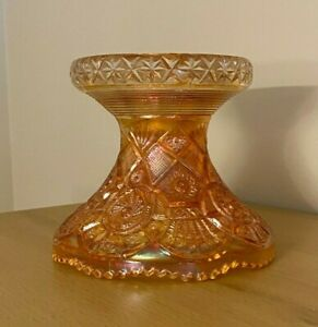 Vintage Carnival Glass Imperial Broken Arches Punch Bowl Base