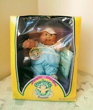 CABBAGE PATCH KIDS PREEMIE Boy Doll w/Certificate Coleco New In Original Box