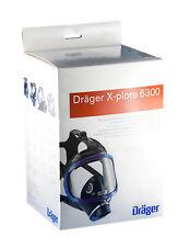 Dräger X-plore 6300 Vollmaske DIN Gewindeanschluß, Atemschutz Gasmaske