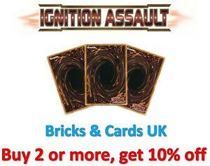 Yu-Gi-Oh! Ignition Assault IGAS - Secret / Ultra / Super Rare Cards - 1st Edi
