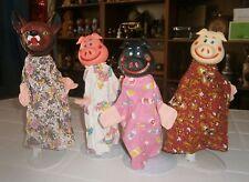 Vintage-Figuren mit Arielle Disneyana