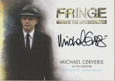 Michael Cerveris 2012 Cryptozoic Fringe autograph auto card A9