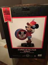 "MICKEY MOUSE CLUB, ""LEADER OF THE CLUB"" Le Ed Of 1,955 Sculpture"
