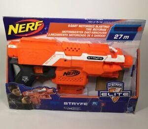 NERF N-Strike Elite A0200EU4  Stryfe Blaster - Black/Orange/White