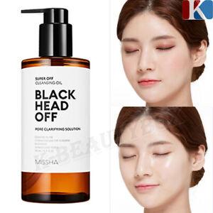 MISSHA Super Off Cleansing Oil Black Head Off / Natural oil base Deep cleanser