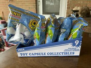 NECA TOY CAPSULE COLLECTIBLES SONIC THE HEDGEHOG EDITION SEALED LOT OF 5