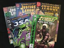 Justice League: The Rise And Fall Special 1 Shot Plus  4 Other JLA / JSA  Comics
