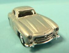 HO 1:87 Scale Welly HO Scale (1:87) Die Cast Car Silver Mercedes Benz 300SL