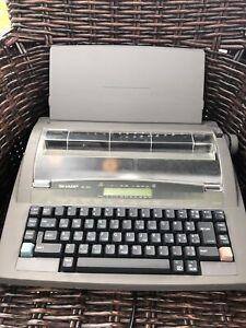 SHARP QL-310 Electronic Typewriter Not Working Vintage Retro
