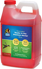 More Birds Premium Hummingbird Nectar 64-Ounces Feeders Bird Wildlife Yard Home