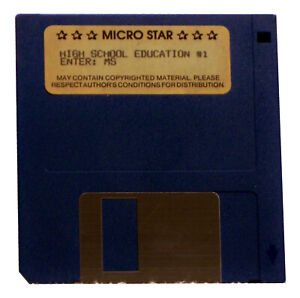 "High School Education #1 by Micro Star (3.5"" Disk)"