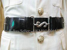 British Army Brigade of the Gurkha Band - Bandsman Waist Belt with Snake Buckle