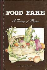 *ORLANDO FL 1982 FOOD FARE COOK BOOK *SOROSIS WOMAN'S CLUB *ETHNIC RECIPES *RARE