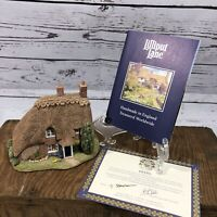 "Lilliput Lane House Duckdown Cottage Original Box With ""Deed"" EUC"