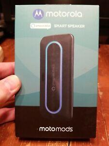 NEW Motorola MotoSmart Speaker with Amazon Alexa for Moto Z, Moto Z Play - Black