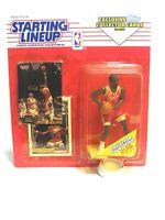 Starting Lineup Action Figure Stacey Augmon Atlanta Hawks 1993 NBA Kenner