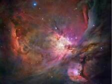 Télescope spatial hubble orion nebula poster print art 400PYB