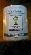 World Cup 2014 Complete Master Set Panini Prizm Soccer 411 Cards & Binder