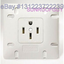 Leviton Range Outlet/Receptacle 50A-125/250V 14-50R - NEW (742-1279-W50)