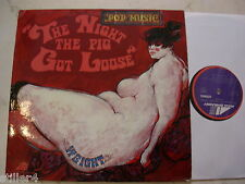 WEIGHT The Night The Pig Got Loose *RARE PSYCHEDELIC ORIGINAL LP*